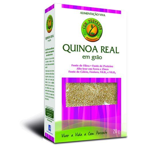 CEM PORCENTO Quinoa Real Em Grão 250 g