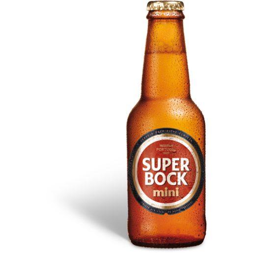 SUPER BOCK Cerveja com Álcool 200 ml
