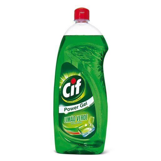 CIF Detergente Manual Loiça Limão Verde 1 L