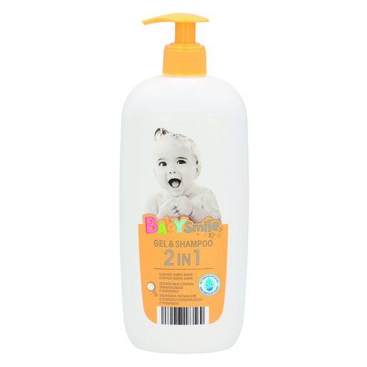BABYSMILE Gel & Shampoo 2 em 1 750 ml