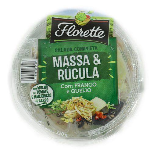 FLORETTE Salada Massa E Rúcula Embalada 320 g
