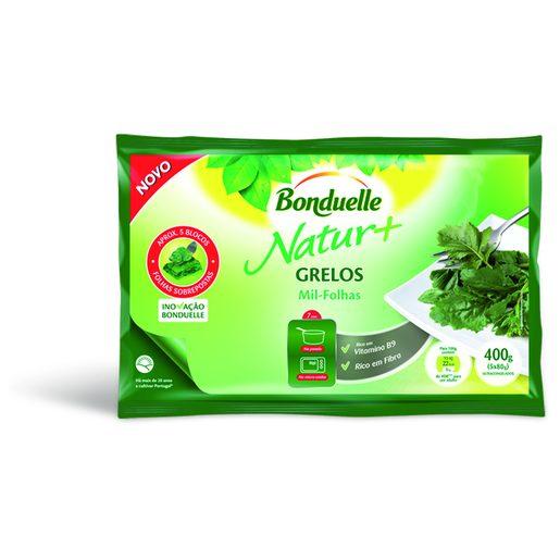 BONDUELLE Grelos Em Folhas 400 g