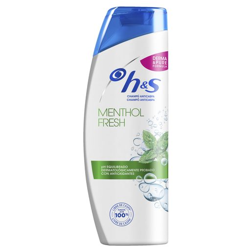 H&S Champô Mentol Fresh 270 ml