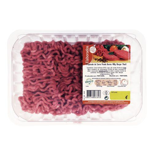 Preparado de Carne Picada de Bovino Embalada 400 g