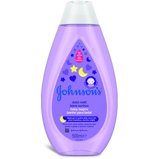 JOHNSON'S BABY Gel Banho Bons Sonhos 500 ml