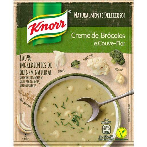 KNORR Sopa 100% Bróculos E Couve-Flor  52 g
