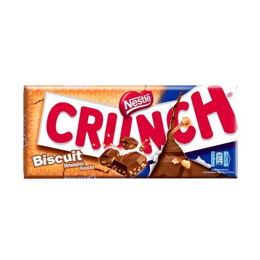 CRUNCH Tablete de Chocolate Biscuit 100 g
