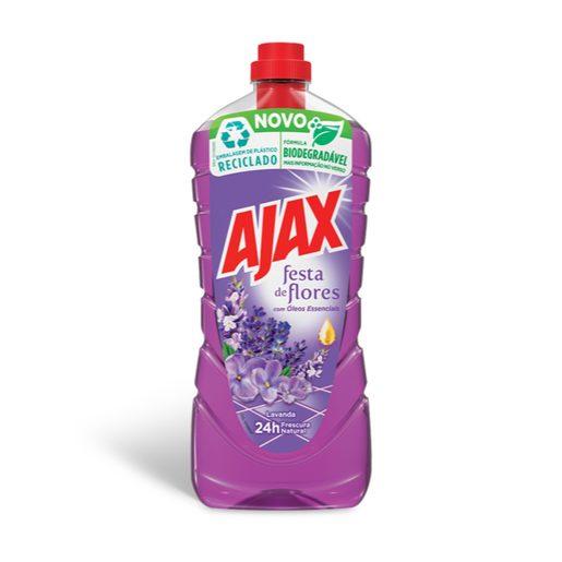 AJAX Lava Tudo Festa de Flores Lavanda 1,25 L