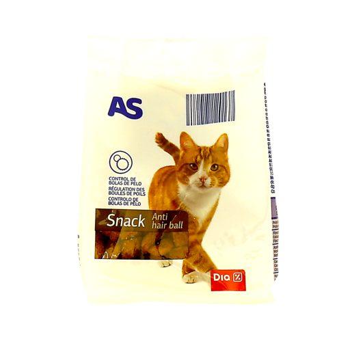 AS Snack Gato Anti Bola Pelo 60 g