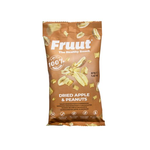 FRUUT Mix Maçã Desidratada e Amendoim 40 g