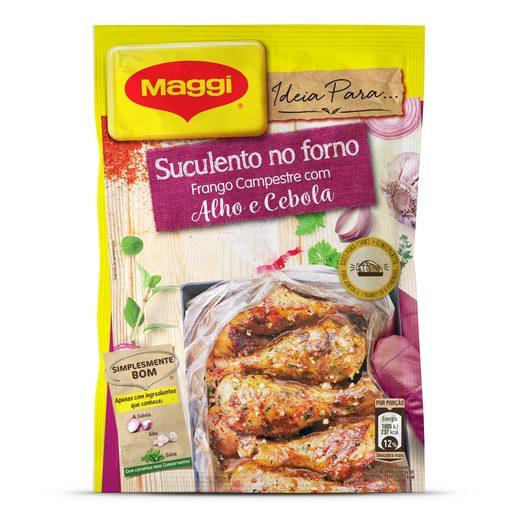 MAGGI Suculento no Forno Frango Campestre com Alho e Cebola 30 g