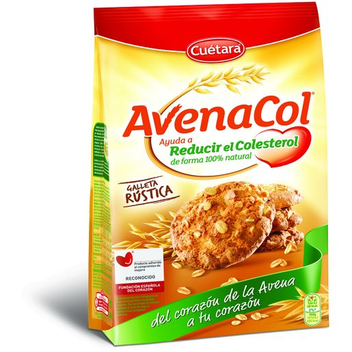 CUÉTARA Bolacha Avenacol Rústica 300 g