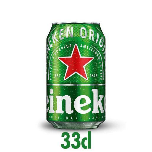 HEINEKEN Cerveja Com Álcool Lata 330 ml