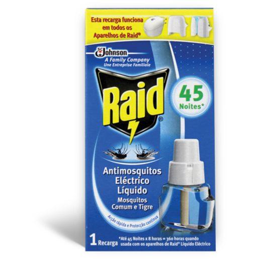 RAID Recarga Antimosquitos Eléctrico Líquido 26 ml