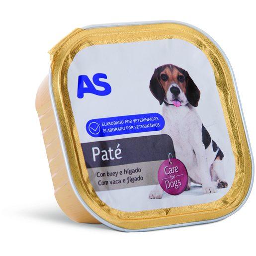 AS Paté de Vaca E Fígado Para Cão 300 g