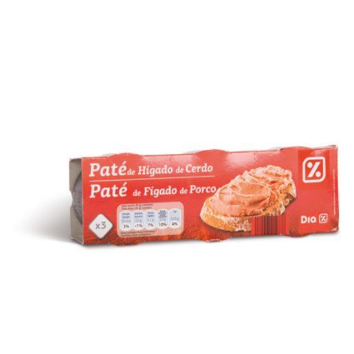 DIA Paté de Figado 3x78 g