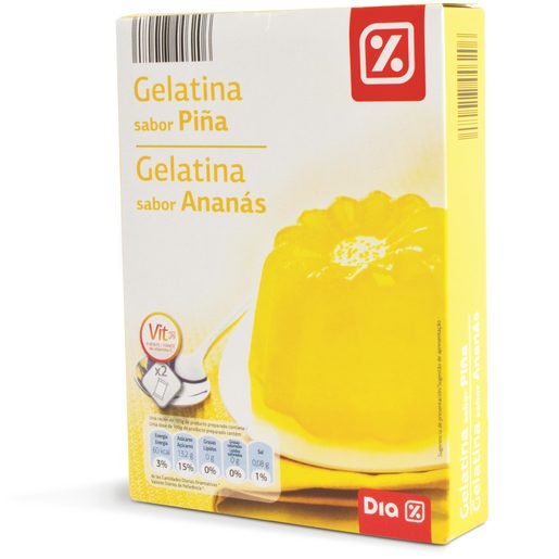 DIA Gelatina de Ananás 2x85 g
