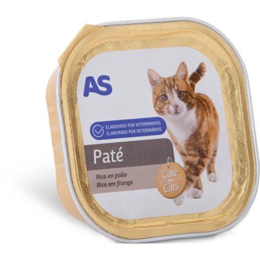 AS Paté Para Gato de Frango E Perú 100 g