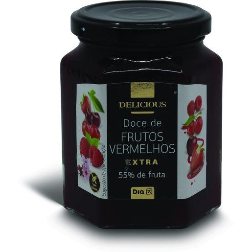 DIA DELICIOUS Doce de Frutos Vermelhos 320 g
