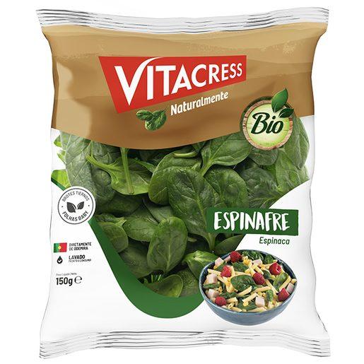 VITACRESS Espinafre Biológico Embalado 150 g