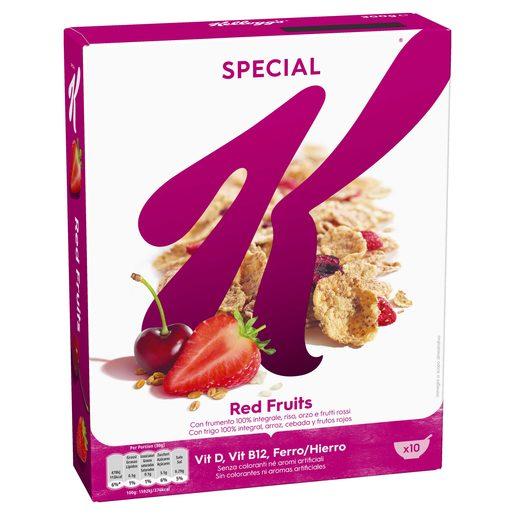 SPECIAL K Cereais de Frutos Vermelhos 300 g
