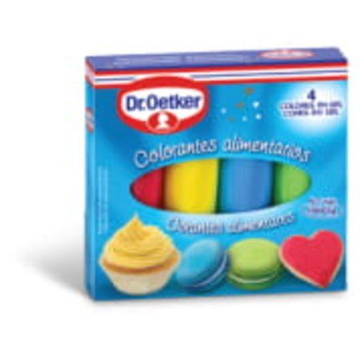 DR OETKER Corantes Alimentares 40 g