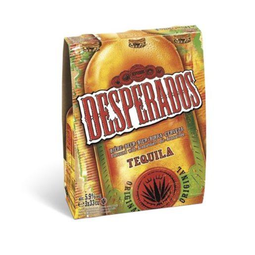 DESPERADOS Cerveja com Tequila 3x330 ml