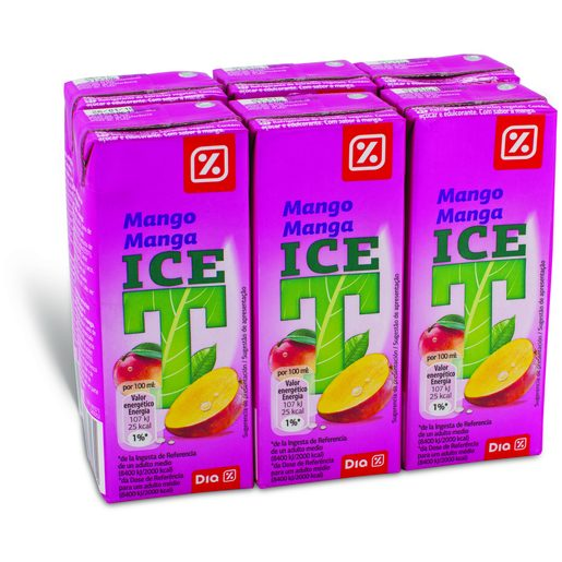 DIA Iced Tea de Manga 6x200 ml