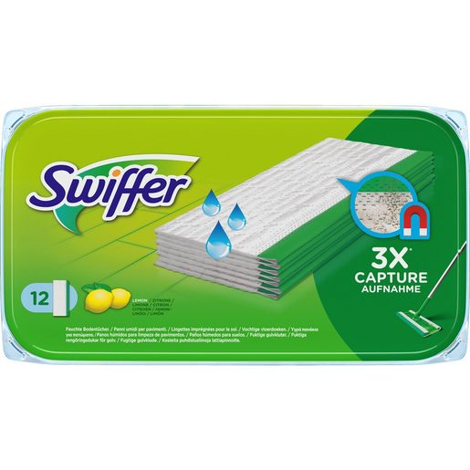 SWIFFER Recargas Húmidas Swiffer 12 un