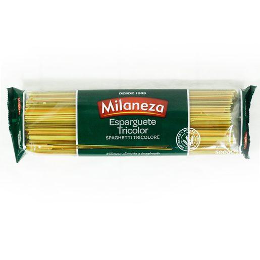 MILANEZA Esparguete Tricolor 500 g