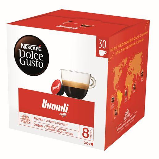 NESCAFÉ DOLCE GUSTO Café Expresso Buondi (Intensidade 8) 30 Un
