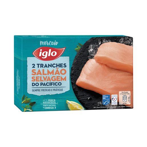 IGLO Tranches de Salmão Selvagem do Pacífico 250 g
