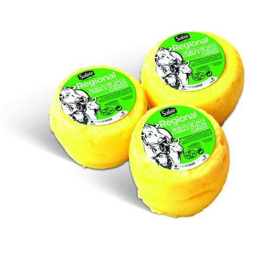 SALOIO Queijo Regional Mistura Vaca, Cabra e Ovelha 3x50 g