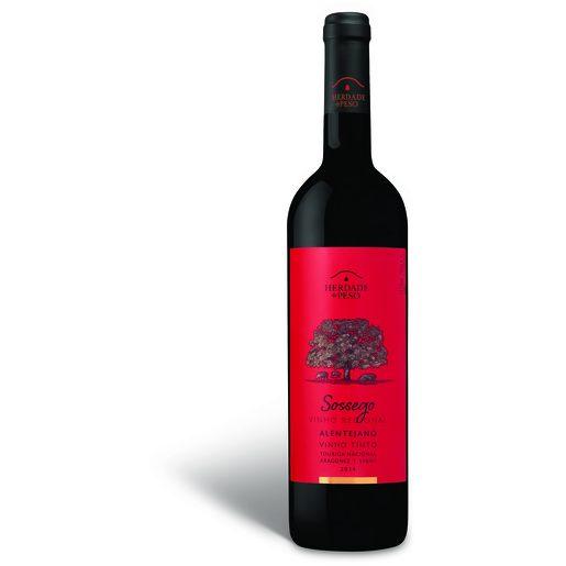 SOSSEGO Vinho Tinto Regional Alentejo 750 ml