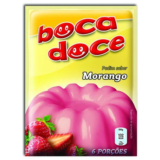 BOCA DOCE Pudim Morango 22 g