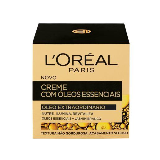 L'ORÉAL PARIS Creme de Rosto Óleo Extraordinário 50 ml