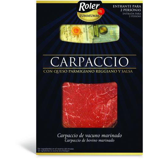 ROLER Carpaccio de Bovino 110 g