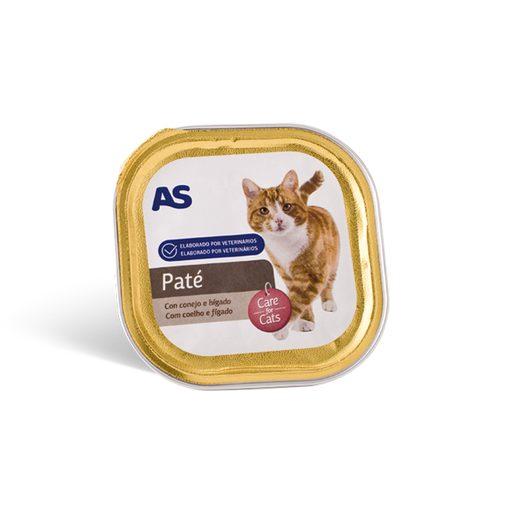 AS Paté Para Gato de Coelho e Fígado 100 g