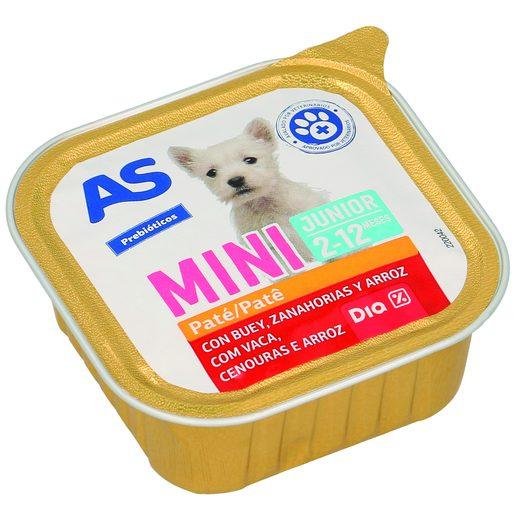 AS Paté Para Cão Júnior Raças Pequenas 150 g