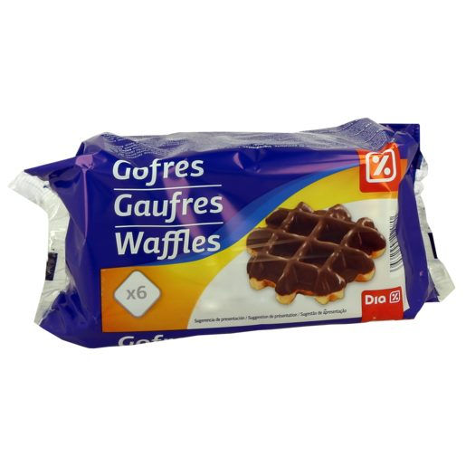 DIA Gofre Coberto de Chocolate 6x60 g