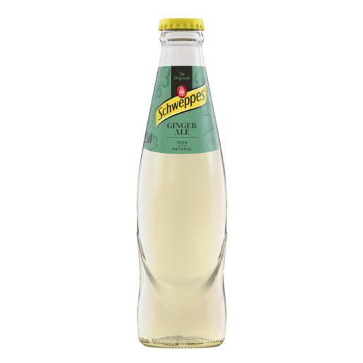 SCHWEPPES Ginger Ale Garrafa 250 ml