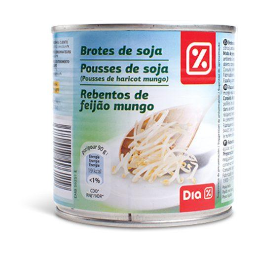 DIA Rebentos de Feijão Mungo em Lata 400 g