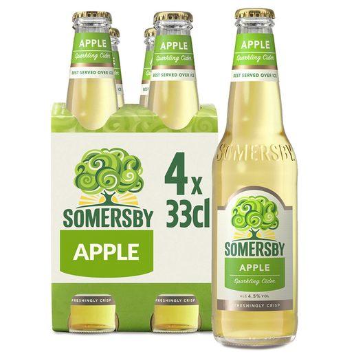 SOMERSBY Sidra Com Álcool Maçã 4x330 ml
