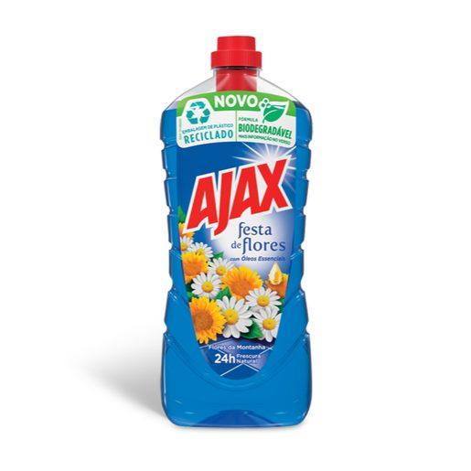 AJAX Lava Tudo Festa de Flores Montanha 1,25 L