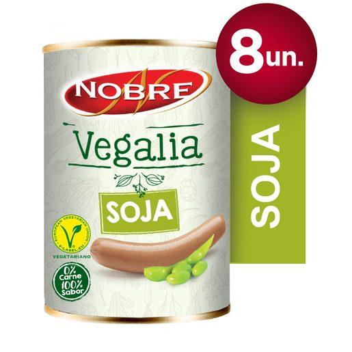 NOBRE VEGALIA Especialidade Vegetariana de Soja Lata 8 un