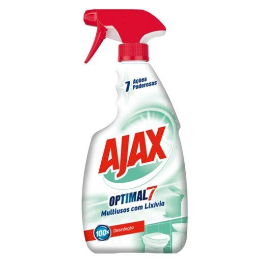 AJAX Spray Optimal 7 Multiusos Com Lixivia 500 ml