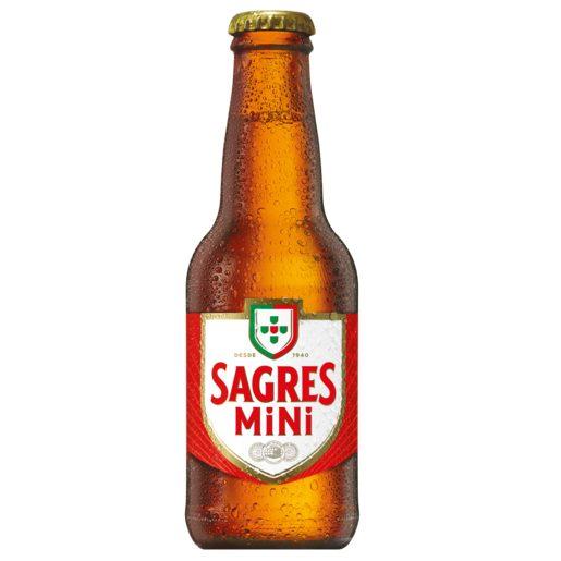 SAGRES Cerveja com Álcool 200 ml
