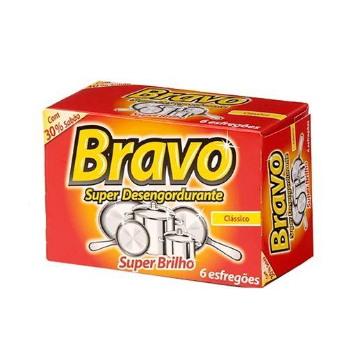 BRAVO Esfregão Bravo 6 Un