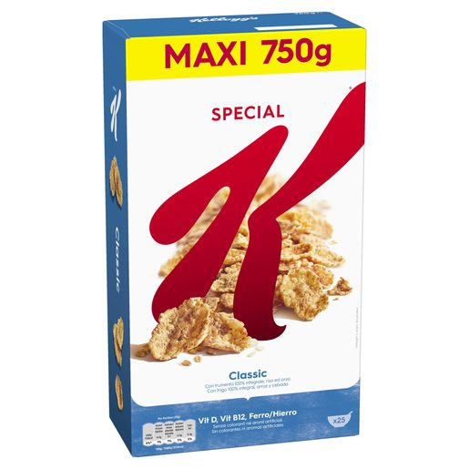 SPECIAL K Cereais Clássico 750 g