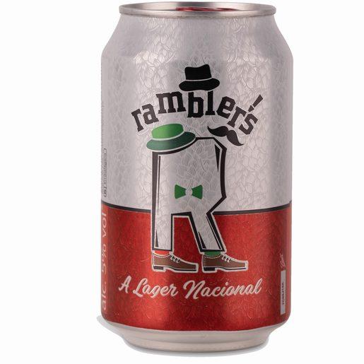 RAMBLERS Cerveja Rambler Lata 330 ml